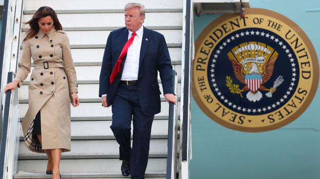 Donald Trump est arrivé à Bruxelles pour un sommet de l'Otan sous haute tension