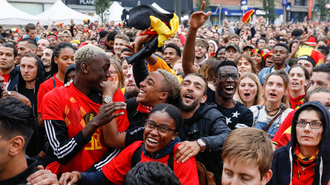 Guillaume, un supporter fier des Diables: