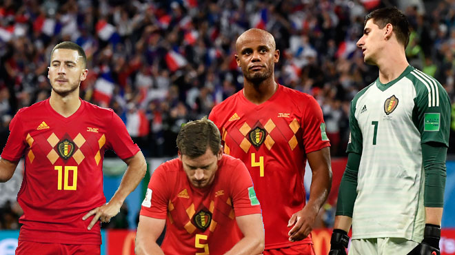 Courtois, Hazard, Vertonghen et Kompany pas tendres envers la France: