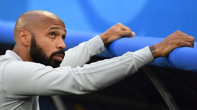 La SNCF chambre Thierry Henry après la victoire de la France contre la Belgique au Mondial