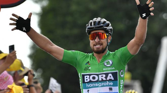 Peter Sagan s'offre un 2e succès au Tour de France, Greg Van Avermaet conserve le maillot jaune