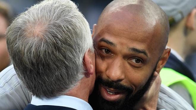 Voici le petit mot qu'aurait confié Thierry Henry à une journaliste française après la victoire des Bleus
