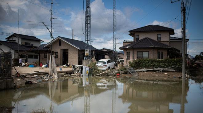 Le bilan est lourd au Japon après des inondations dévastatrices et il y a encore des dizaines de disparus