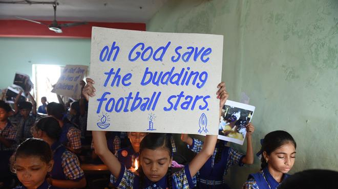 Le superbe geste de la Liga pour les 12 jeunes footballeurs sortis sains et saufs d'une grotte en Thaïlande