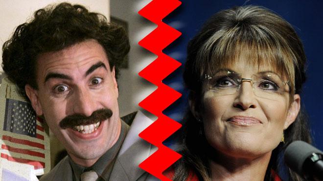 Piégée par Sacha Baron Cohen, la républicaine Sarah Palin s'énerve: