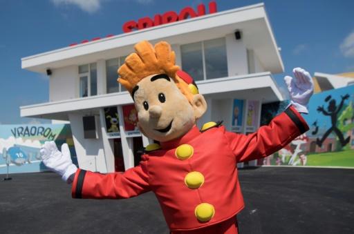 Spirou fête ses 80 ans le temps d'une exposition à Saint-Malo