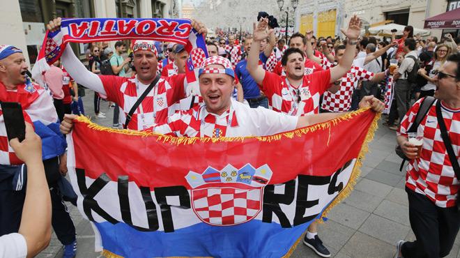 Mondial 2018: pourquoi les Écossais sont devenus fans de la Croatie