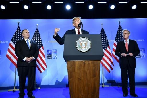 Trump rassure les Alliés: