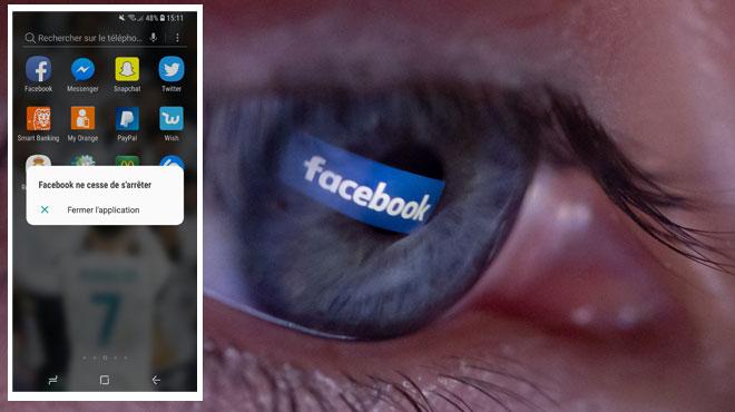 Après Snapchat, plusieurs utilisateurs signalent aussi des problèmes d'accès sur Facebook