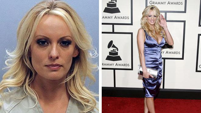 Stormy Daniels, actrice porno et ex-maîtresse présumée de Trump, interpellée dans un club de strip-tease