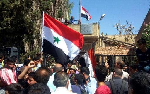 La ville de Deraa, berceau de la contestation anti-Assad en Syrie