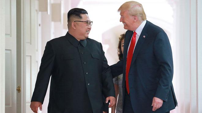 Donald Trump diffuse une lettre de Kim Jong-Un — USA