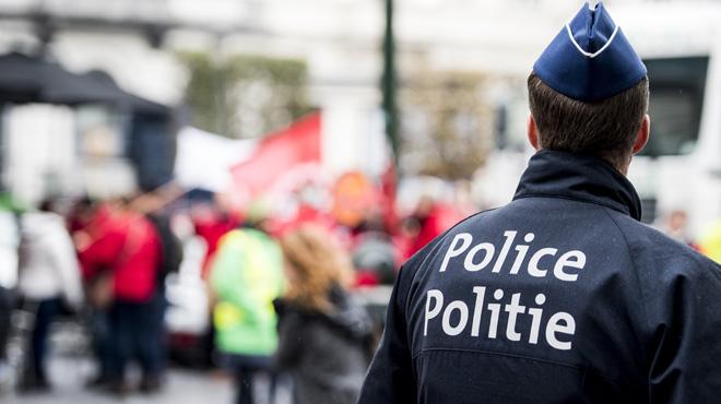 Des agents de police