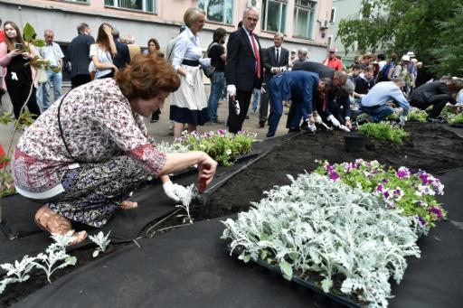 A Moscou, un jardin inauguré en mémoire de la journaliste assassinée Politkovskaïa
