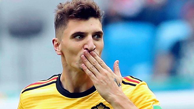 Thomas Meunier inscrit le but le plus rapide de la Belgique en Coupe du Monde