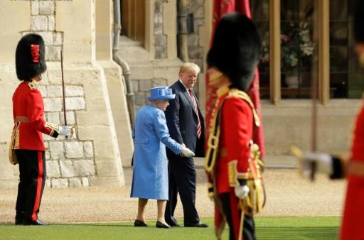 Trump: la reine estime que le Brexit est un