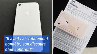 Alexis achète sur 2ememain un iPhone lié à l'abonnement Proximus de quelqu'un d'autre- que risque-t-il?