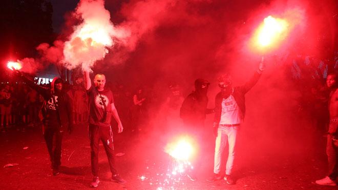 Coupe du Monde: les festivités gâchée par des incidents