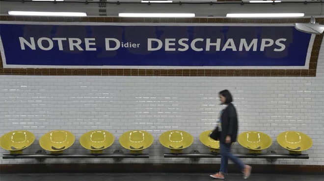 Coupe du monde 2018 : la RATP (aussi) célèbre la victoire des Bleus