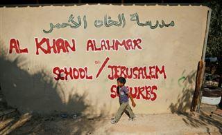 Un village palestinien avance la rentrée scolaire, dans l'espoir d'éviter sa destruction
