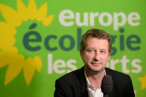 Yannick Jadot tête de liste EELV aux élections européennes de 2019