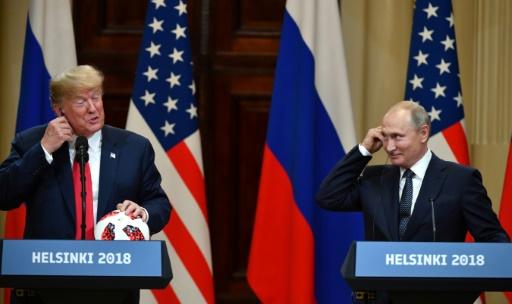 A Helsinki, Trump conciliant avec Poutine sur l'ingérence électorale