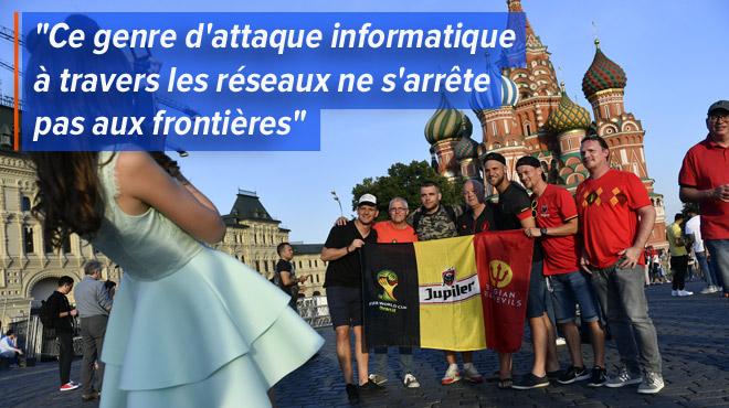 Des supporters belges sont-ils rentrés de Russie avec des mouchards dans leurs téléphones ?