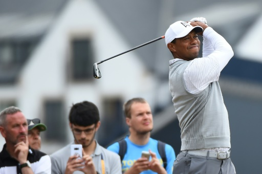 British Open: Tiger Woods se sent