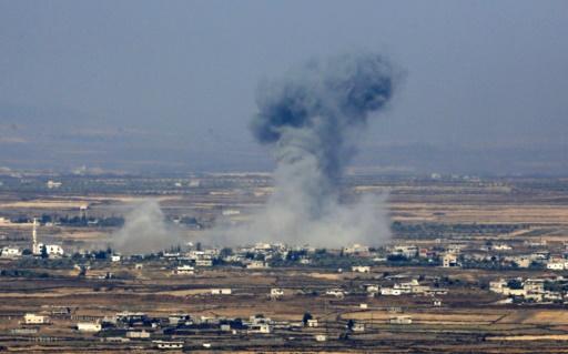 Sud syrien: 15 civils tués dans des frappes aériennes (OSDH)