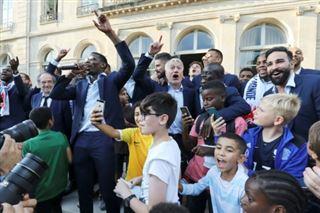Obama rend hommage aux Bleus, qui ne sont pas tous des Gaulois