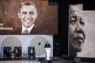 En Afrique du Sud, Obama dégaine les coups contre Trump... sans le nommer