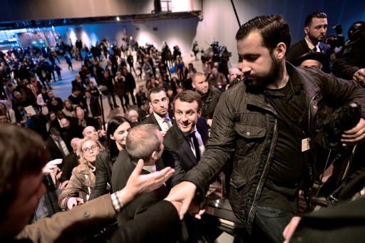 Collaborateur violent de Macron: ouverture d'une enquête préliminaire