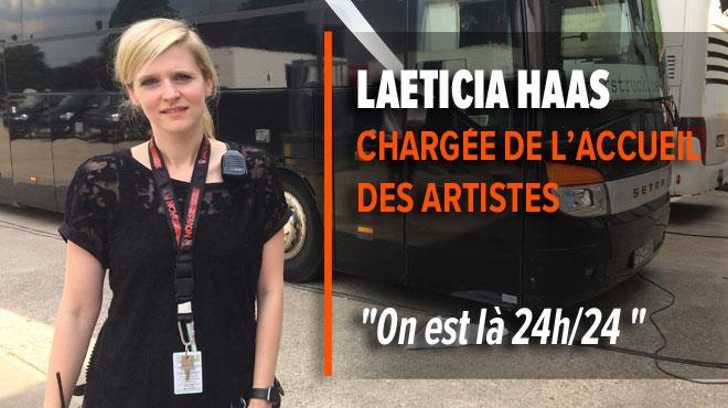 Dans les coulisses du festival des Ardentes: Laeticia, chargée de l'accueil des artistes, nous raconte tout