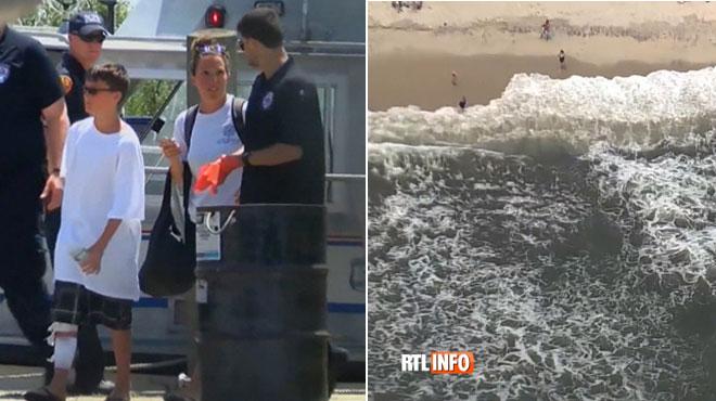L'Etat de New York face à sa première attaque de requins depuis 70 ans?