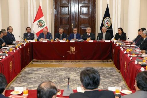 Pérou : un scandale d'enregistrements emporte le président de la Cour suprême