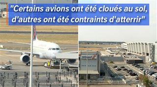Problème technique à Belgocontrol- l'espace aérien belge a été complètement FERMÉ, retour à la normale vendredi à Brussels Airport 2