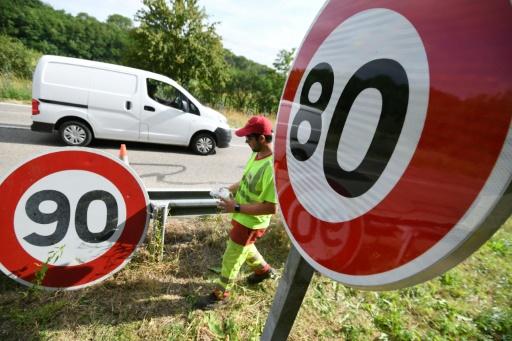 Cinquante-sept députés contestent devant le Conseil d'Etat la limitation de vitesse à 80 km/h