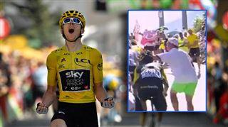 Tour de France- Thomas plus fort que Froome dans la montagne, les Sky agressés par des spectateurs 2