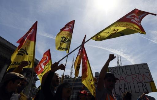 Grève SNCF: la CGT peine à mobiliser mais