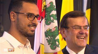 Nacer Chadli, fait citoyen d'honneur de la ville de Liège, revient sur le Mondial des Diables Rouges- Des souvenirs inoubliables 4