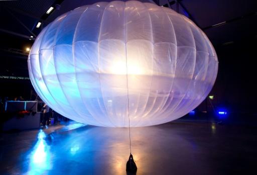 Alphabet-Google va déployer au Kenya ses premiers ballons-transmetteurs d'internet