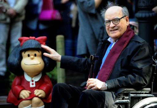 Argentine: Quino dénonce le détournement de sa Mafalda par les anti-avortement