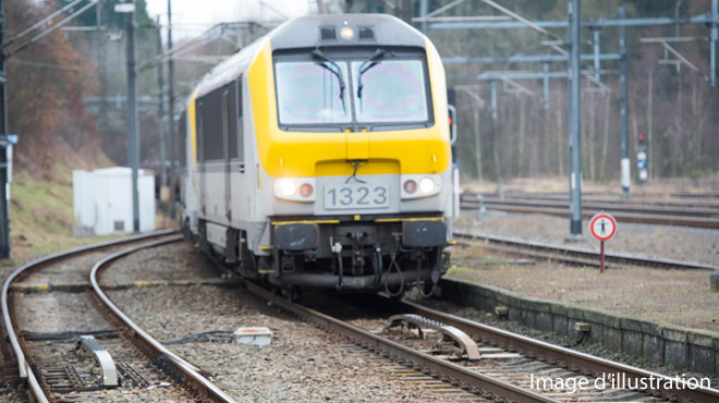 Le trafic ferroviaire interrompu entre Courtrai et Deinze à cause d'un accident à Waregem