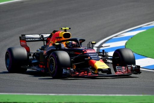F1: Verstappen meilleur temps aux essais libres 2 du GP d'Allemagne