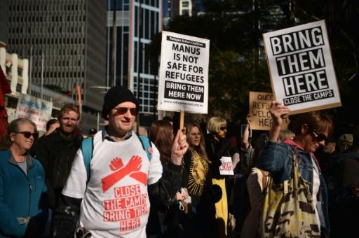 Australie: manifestations contre la politique d'immigration du gouvernement
