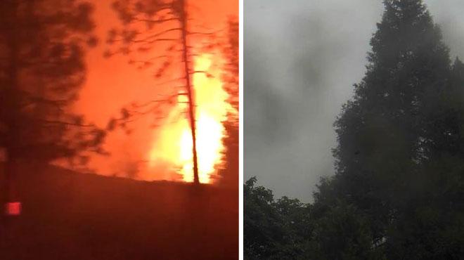 En Californie, un incendie gagne du terrain près du parc national de Yosemite: 3 victimes, 27 millions d'arbres ravagés (vidéo)