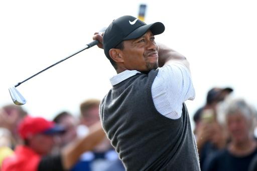 British Open: Woods revient fort, Spieth à 18 trous du doublé