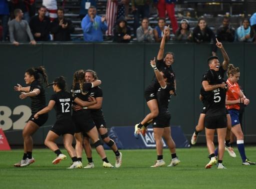 Coupe du monde Rugby à VII: les Black Ferns trop fortes pour les Françaises