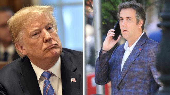 Rien ne va plus entre Trump et son ex-avocat: le Président juge