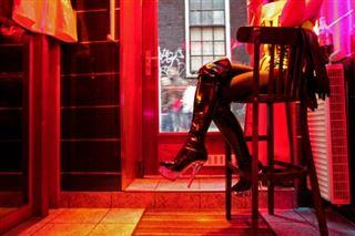Sans préservatif dans le quartier rouge d'Amsterdam? Même pas pour un million!